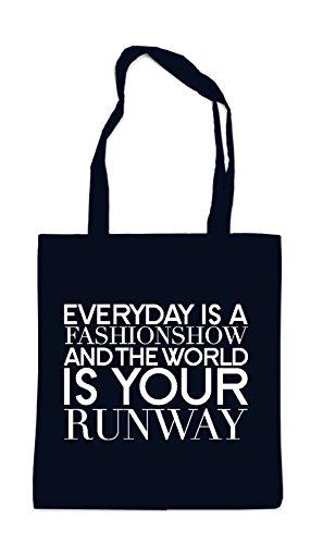 Everyday Is a Fashionweek Bag Black