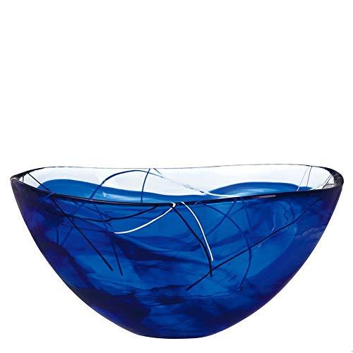 - Kosta Boda Contrast Large Blue Bowl