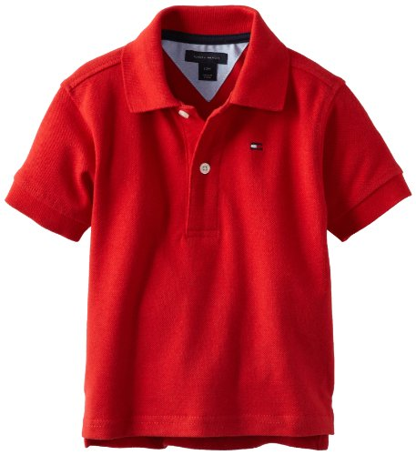 Tommy Hilfiger Baby Boys' Ivy Polo Shirt, Regal Red, 12 Months