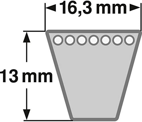 ConCar Keilriemen SPB 2380 Lw