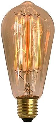 Lâmpada Filamento de Carbono ST58 40W