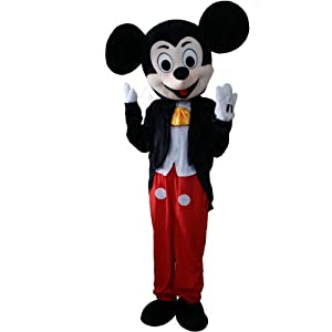 Laies Sky Mickey Mouse Minne Cartoon Character Mascot Costume