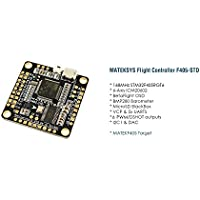 Usmile Matek Systems F405-STD BetaFlight STM32F405RGT6 Flight Controller Built-in OSD Inverter for SBUS Input for Martian Alien Carbon Fiber quadcopter X frame Carbon Fiber FPV Racing Quad Drone Frame