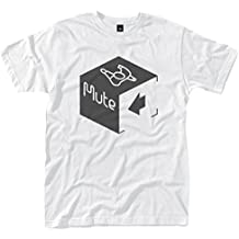 Mute Records Cube Logo' T-Shirt