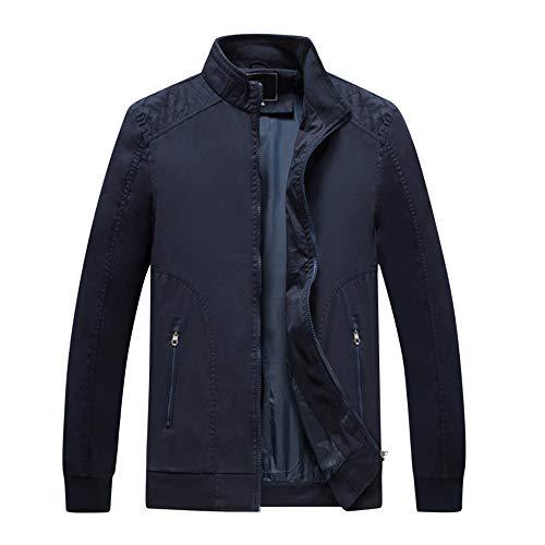In All'acqua Yesmile Outwear Resistenti Button Moda Giacche Termica Jacket Blu Uomo Autunno Giacca Inverno Casual Top Camicetta Pocket Coat Pelle UFFfx0wnB
