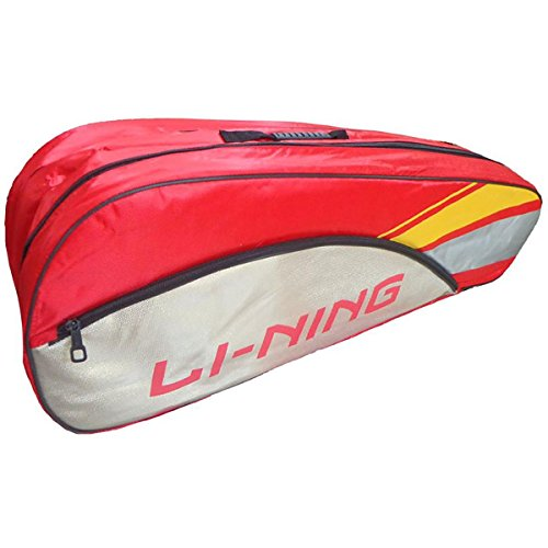 KD Li-Ning ABDK122 Double Compartment Badminton Kitbag (Red)