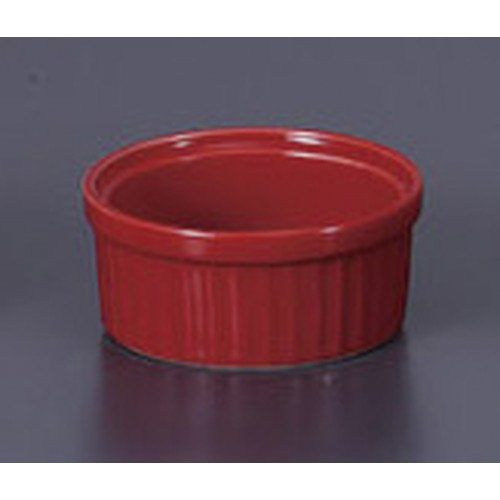 Western-style single item Red Souffle S [8 x 3.7 cm 100 cc] Ryotei Ryokan Japanese-style machine for eating and drinking establishment