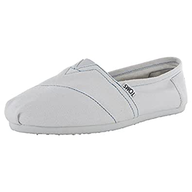 TOMS Women's Classics Shoe White Canvas Size 5.5 B(M) US