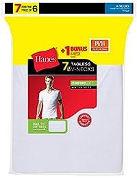 Men's TAGLESS V-Neck Undershirt 7-Pack
