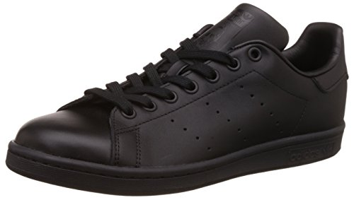 Adidas Men's Originals Stan Smith Sneaker, Core Black/Black/Black, 13 M US