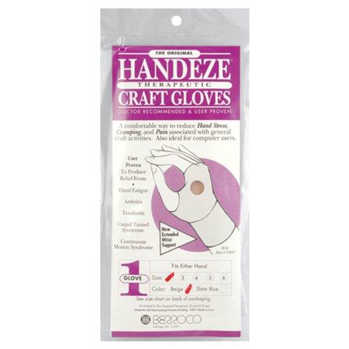 (Brand New HandEze Therapeutic Craft Glove 1/Pkg-Size 5 Brand New)