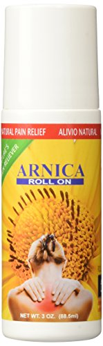 Sanar Naturals Arnica Roll On, 3 ounce - Topical Analgesic for Joint Pain, Bruises, Muscle Stiffness