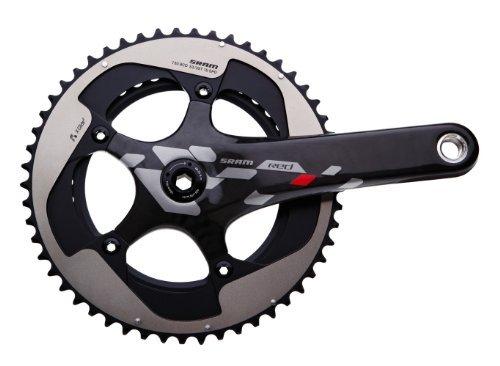 - SRAM Red 10 Speed Crankset - BB30, 172.5 mm, 53t-39t by Sram Road