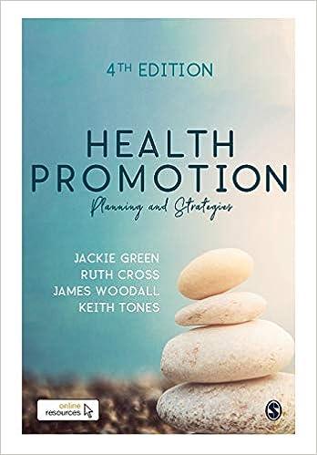 Health Promotion: Planning & Strategies, 4th Edition - Original PDF