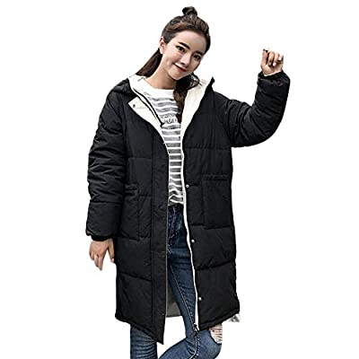 Limsea 2018 Women Hooded Coat Slim Cotton-Padded Jacket Essential Winter Warm Thick Outerwear