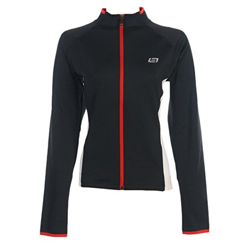 Bellwether 2015/16 Women's Thermal Long Sleeve Cycling Jersey - 93820 (Black - XL)