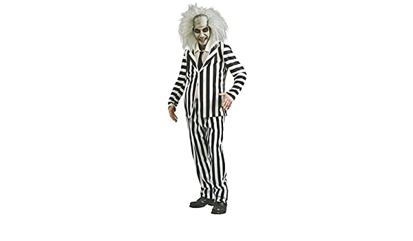 Adult Beetlejuice Fancy Dress Costume Standard: Amazon.es: Juguetes y juegos