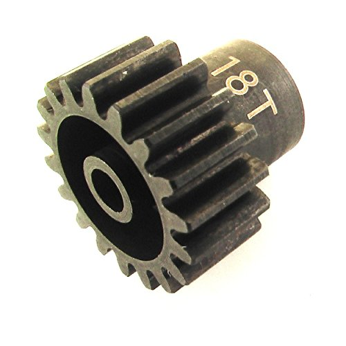 Hot Racing CSG1218 18t 32p Hardened Steel Pinion Gear 1/8 Bore (Aluminum Stock 3mm Chassis)