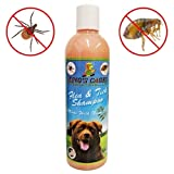 King's Cages 50019 Flea and Tick Dog Shampoo with Neem Oil 17 oz