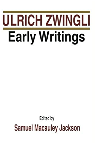 Book Ulrich Zwingli Early Writings