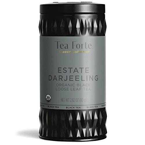 Tea Forte Black Tea (Estate Darjeeling, Loose Tea Canister)