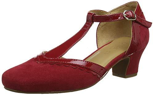 Escarpins Viviene Rouge 181 Salomé Patent Tango Femme Hotter Red Px08w6