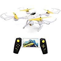 BTG Foldable WiFi FPV RC Quadcopter with 720P HD Camera - APP Control Gravity Sensor, Hover and High/Altitude Hold, Return Home, Headless Mode, ONE-KEY START, ONE-KEY LANDING