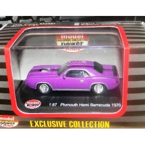 - Model Power 19450 '70 Plymouth Hemi Barracuda Purple