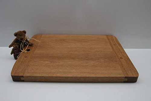 Cutting Board Made of White Oak. A Beautiful Piece Old World Style. A Perfect addition to any Kitchen! Made with Hard Work and Artisan Tools The Old Fashioned Way! by Lyman Creek Woodworks (Image #4)
