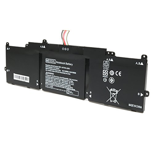 Reparo 11.4V 37WH ME03XL New Replacement Laptop Battery for HP Stream 11 13-C010NR Notebook 787521-005 787089-541 HSTNN-UB6M by Reparo (Image #1)
