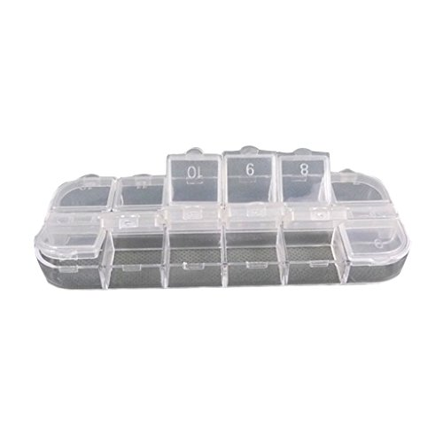 BARGAIN HOUSE Jewelry Organiser Bead Storage Container Case Plastic