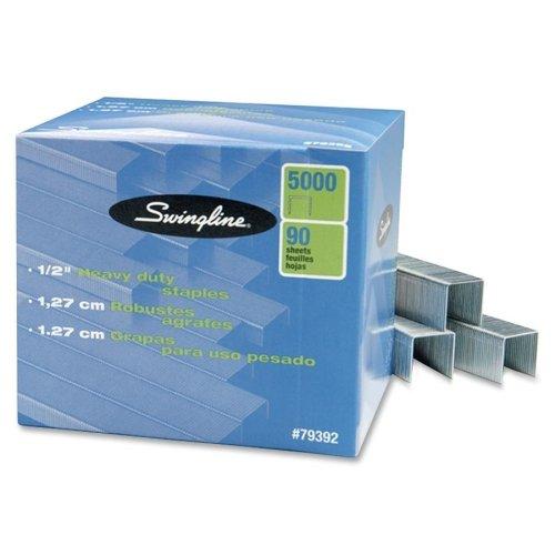 Wholesale CASE of 20 - Swingline SF39 Heavy-duty Staples-Staples For Heavy-Duty Staples,1/2''L,5000/BX