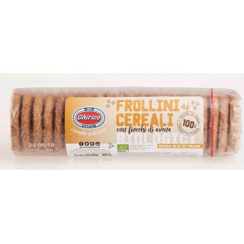 FROLLINI Bio Cereales con copos de avena CHIRICO - Cartón 12 unidades