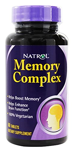 Memory Tablets 60 Complex (Memory Complex Natrol 60 Tabs)