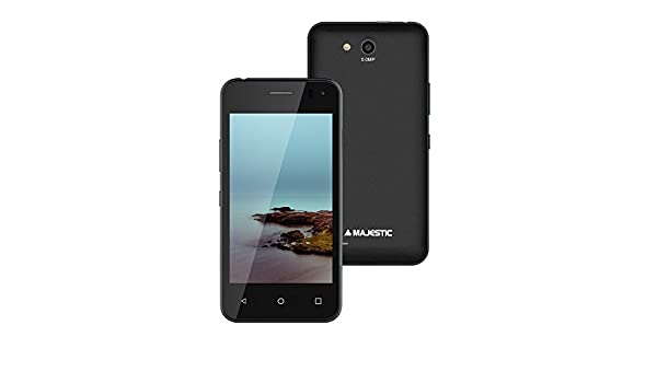 Majestic Pluto 26 m Negro Smartphone 4 Quad Core Android 6.0 ...