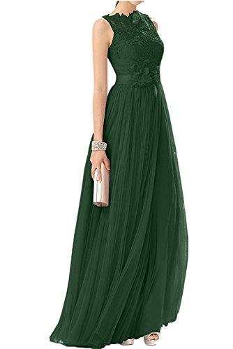 Abendkleider Spitze Abschlussballkleider A La Promkleider Rosa Braut Damen Rock Festlichkleider mia Langes Gruen Dunkel Linie Tuell nqxawUIY8