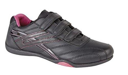 Pdq fuchsia Black Negro Zapatillas Para T657 Mujer pSrTpq
