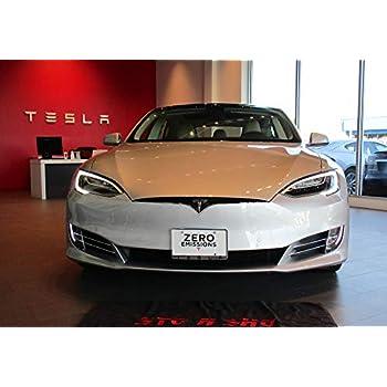 2012-2015 Tesla Model S STO-N-SHO Take Off Metal Removable License Plate Frame