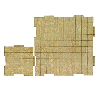 Role 4 Initiative Dry Erase Dungeon Tiles: Earthtone - Combo Pack of Five 10