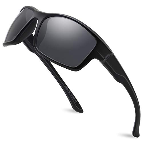 MAXJULI Polarized Sports Sunglasses Men Women Running Fishing Driving MJ8014