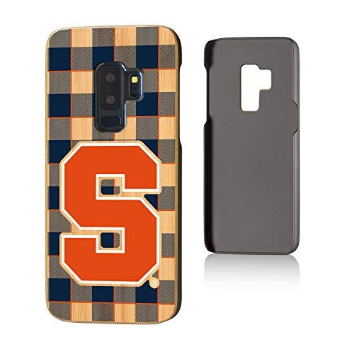 Keyscaper NCAA Syracuse Orange Samsung Galaxy S9+ Bamboo Case, Wood by Keyscaper