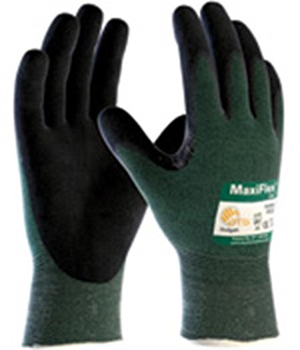 MaxiFlex Cut 34-8743/XL Seamless Knit Engineered Yarn Glove with Premium Nitrile Coated Micro-Foam Grip on Palm and Fingers by MaxiFlex Cut (Image #2)