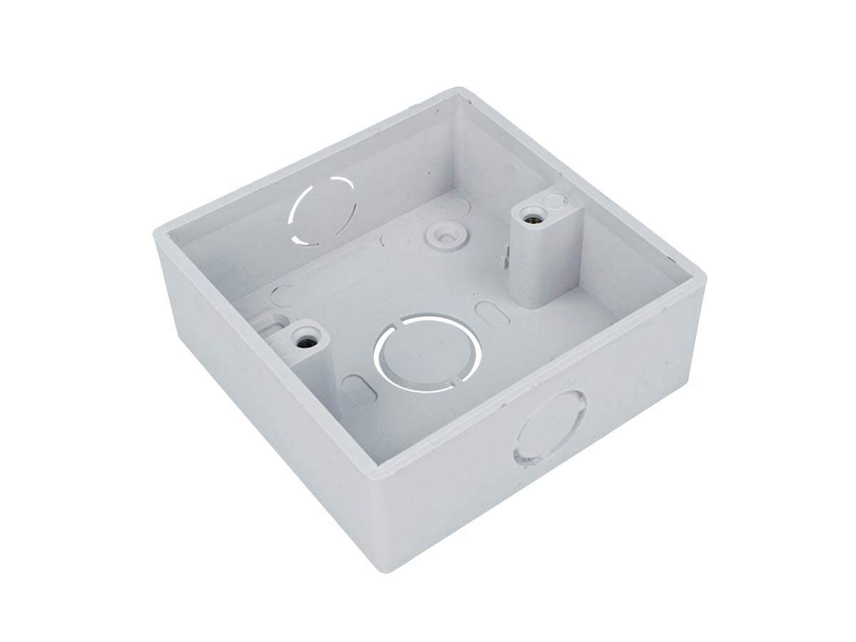 LEDLUX CL8686 Square Wall Mounted Box 86X86X33mm Chinese Standard Style White Color