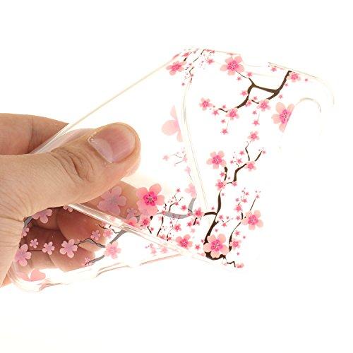 Voguecase® Pour Apple iPhone 6 Plus/6S Plus 5,5, TPU avec Absorption de Choc, Etui Silicone Souple Transparent, Légère / Ajustement Parfait Coque Shell Housse Cover pour iPhone 6 Plus/6S Plus 5,5 (Fle