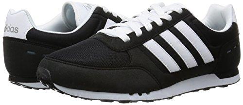 adidas NEO CITY RACER - Zapatillas deportivas para Hombre, Negro - (NEGBAS/FTWBLA/GRIS) 36 2/3 core black-ftwr white-grey