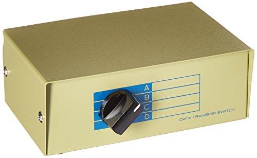 (Monoprice 101348 DB15 ABCD 4 Way Switch Box)
