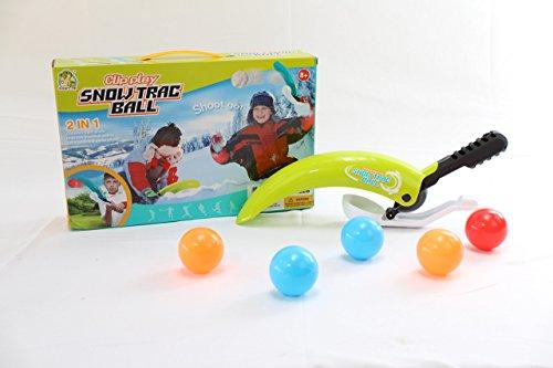 Kb Trackball (NBD Snow Trac-Ball Sport Game, Snowball Maker, Launcher, Thrower & Scooper Toy)