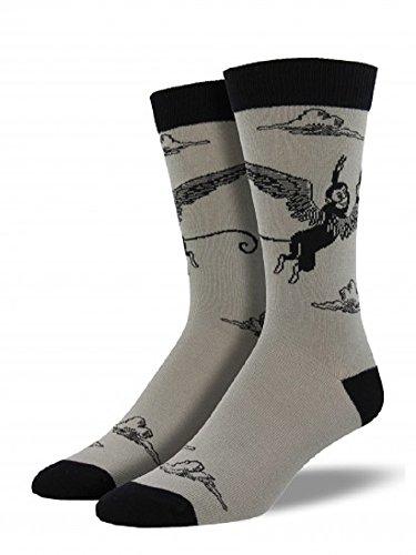 Socksmith Men's Bamboo Crew Socks