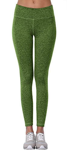 Aenlley Women's Activewear Yoga Pants High Rise Workout Gym Spanx Tights leggings Color Green Size XL (Out Green)
