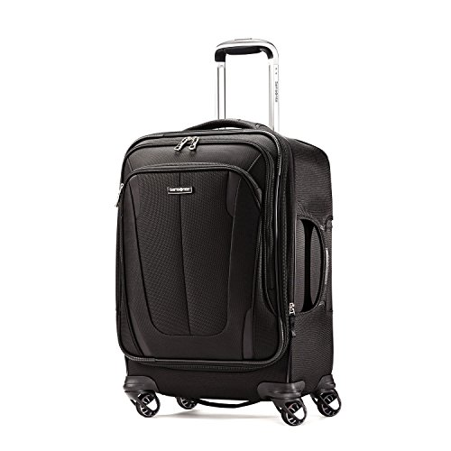 Samsonite Silhouette Sphere 2 Softside 21 Inch Spinner, Black, One Size